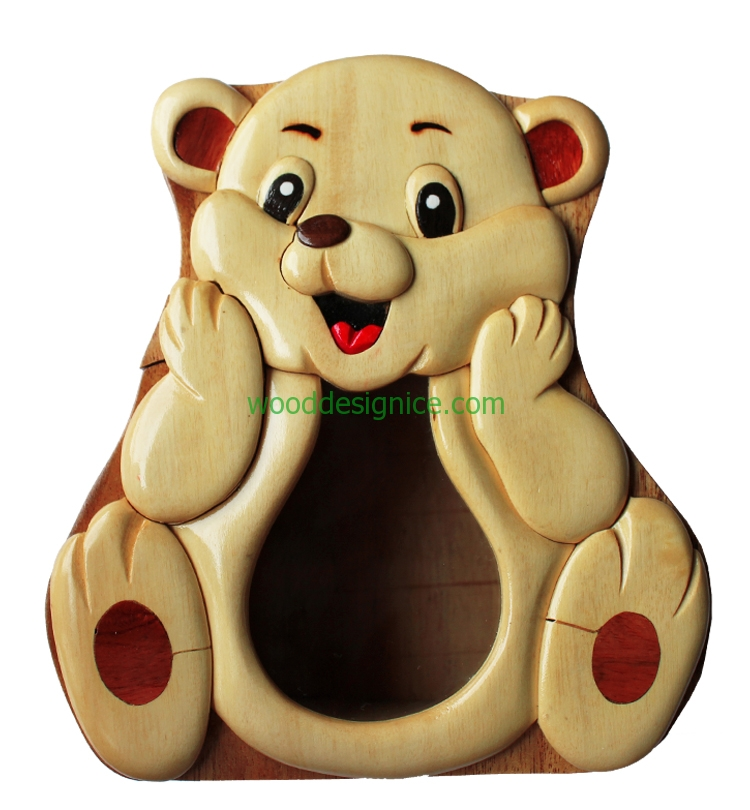 Wooden Money Box MON006