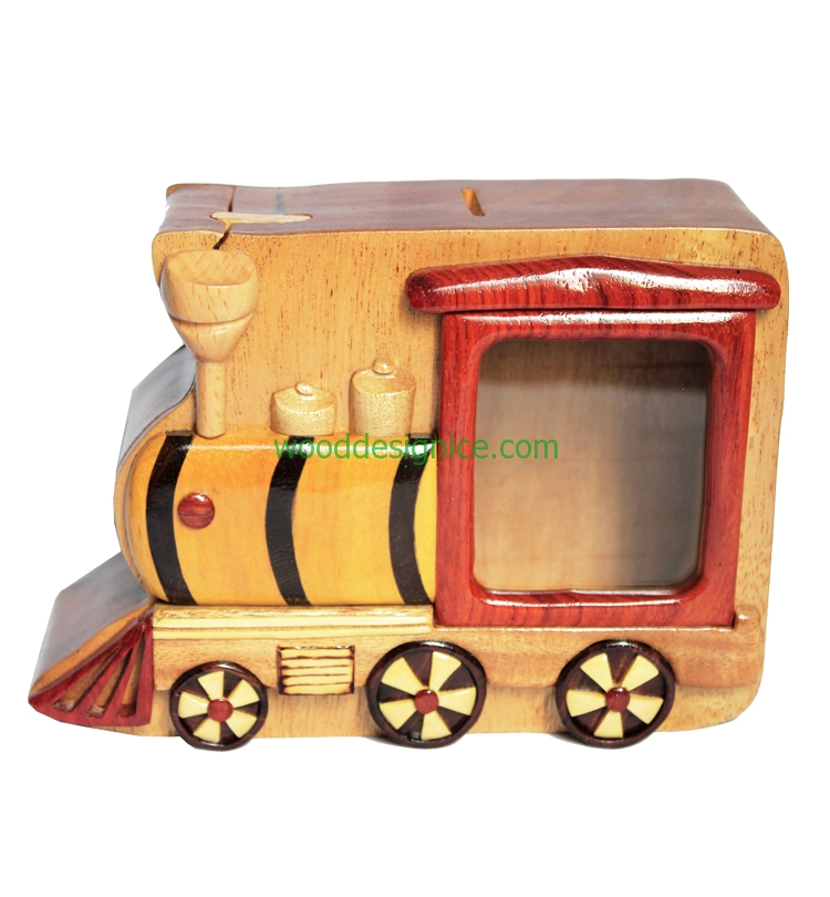 Wooden Money Box MON010