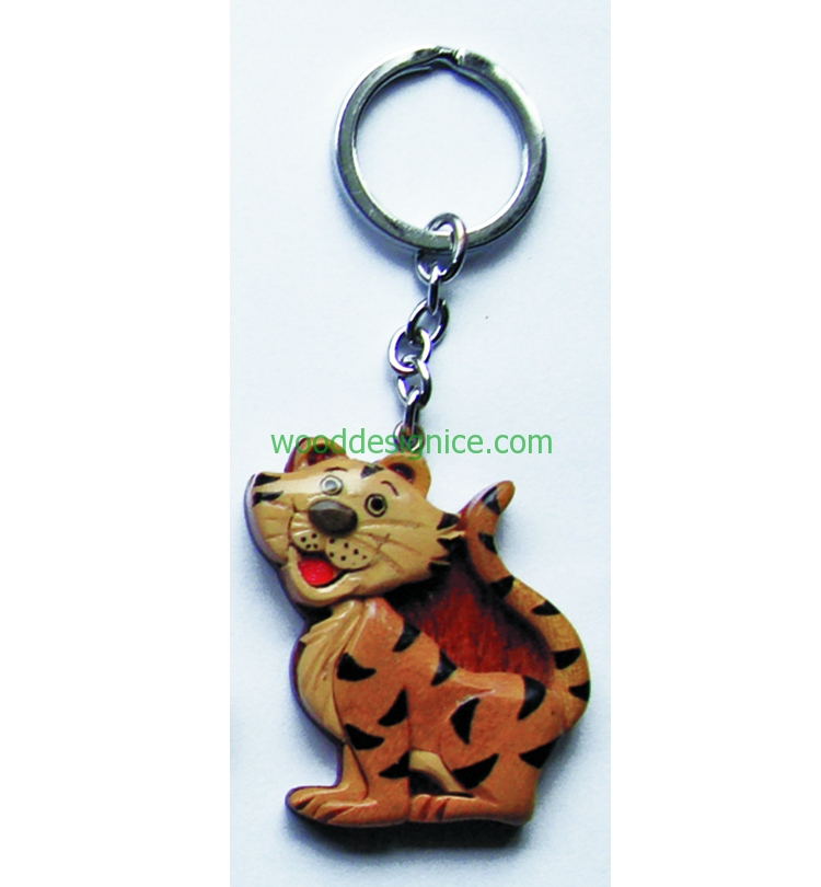 Wooden Key Chain 009