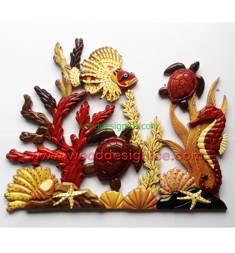 WOODEN WALL ART WAL031