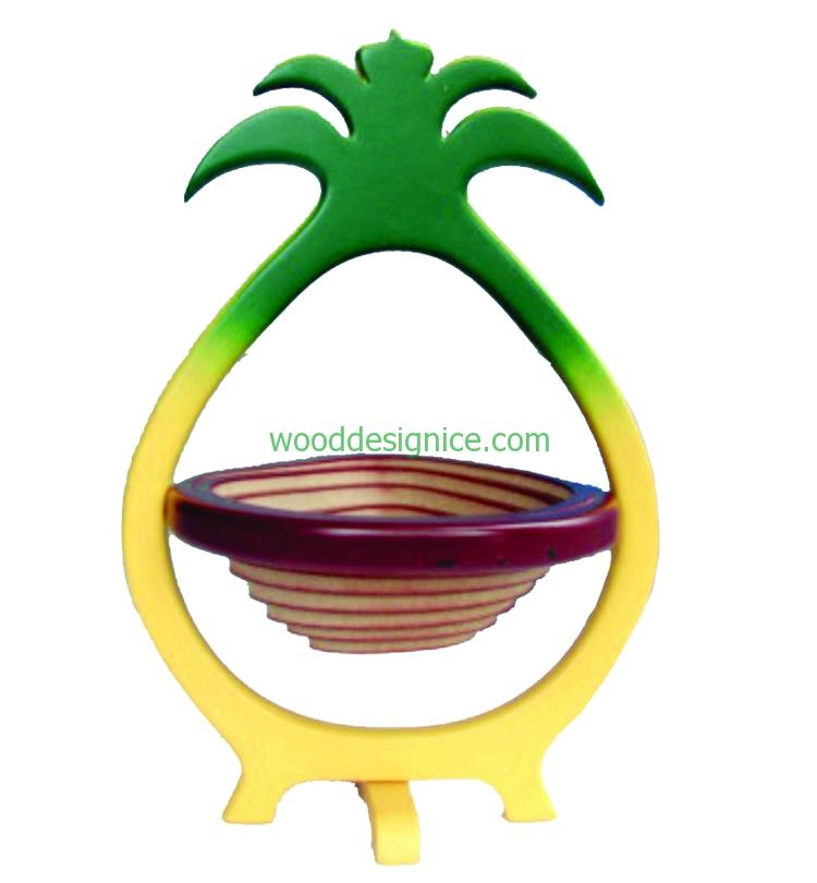 Wooden Basket BAS001