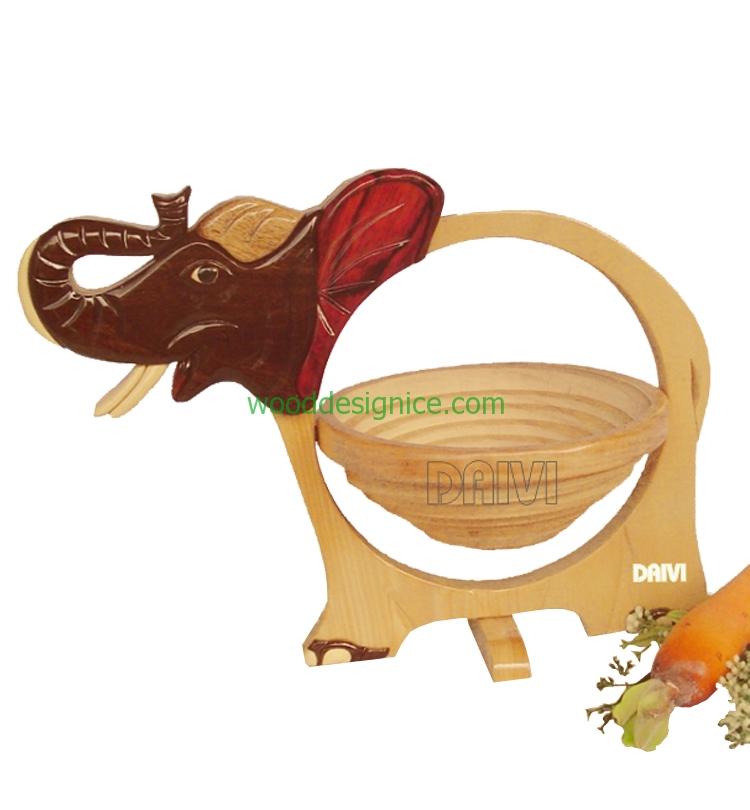 Wooden Basket BAS008