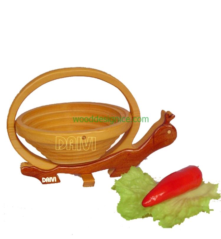 Wooden Basket BAS010