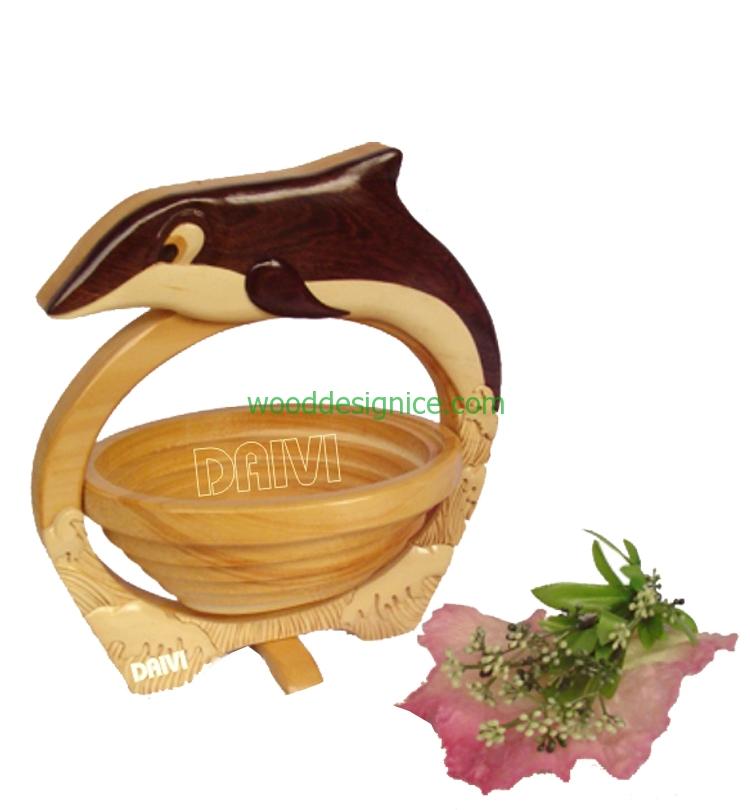 Wooden Basket BAS012