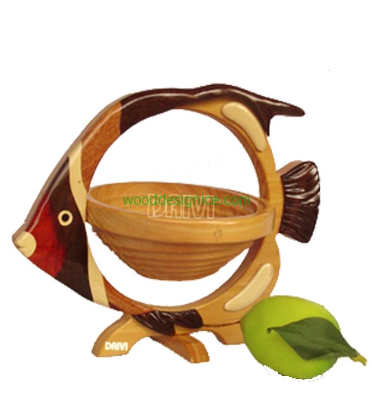 Wooden Basket BAS013