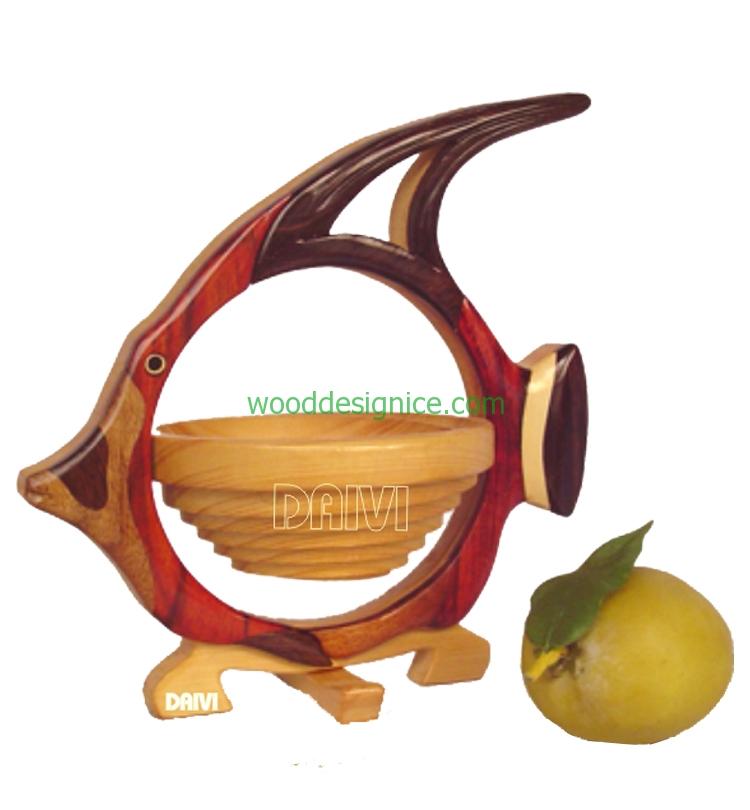 Wooden Basket BAS014