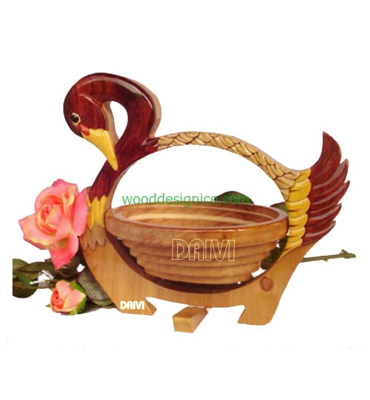 Wooden Basket BAS016