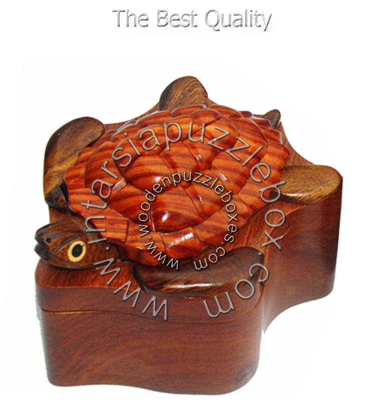 Wooden Puzzle Box 025
