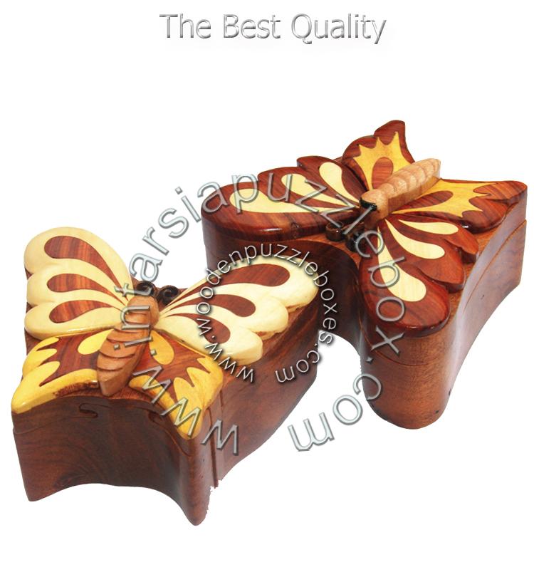 Wooden Puzzle Box 029