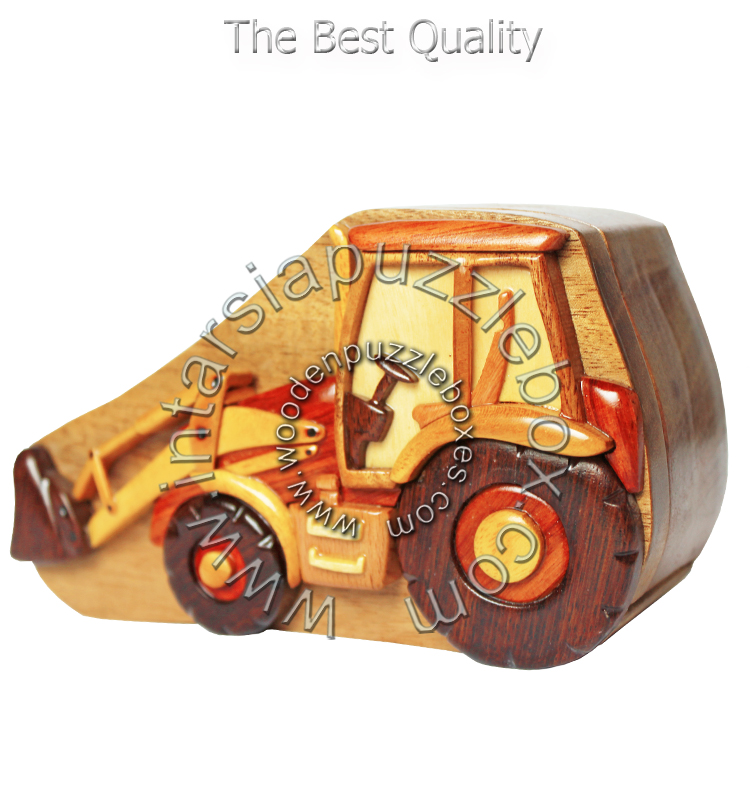 Wooden Puzzle Box 042