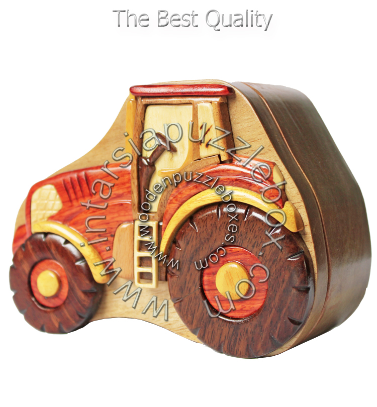 Wooden Puzzle Box 043