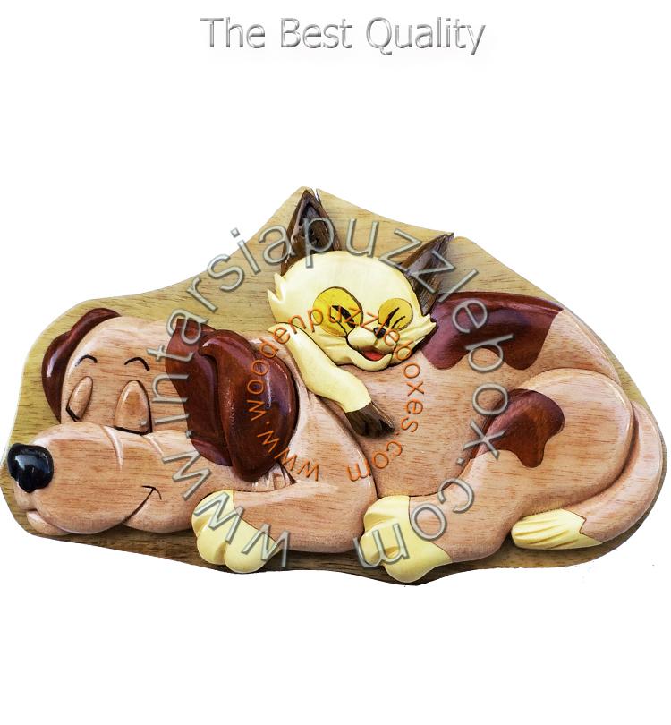 Wooden Puzzle Box 099